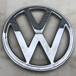 VW Classic T2 Splitty script badge autoadesivo cromo Emblema Bus inox